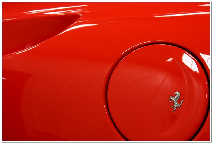 Ferrari fuel cap emblem