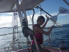 Good Sailing (Jessica_Watson) Tags: world old out person sailing jessica year solo watson be sail around 16 non setting youngest unassisted jessicawatson nonunassisted