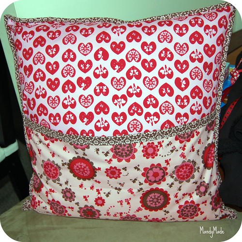 Stepping Stones Pillow - Back