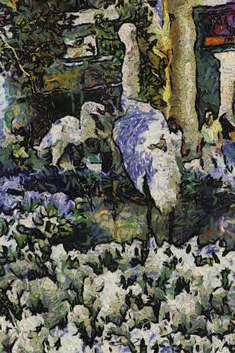 Van Gogh Birds