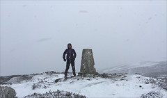 6 of 52 trig points (Ron Layters) Tags: 2017 ronlayters selfportrait 52trigpoints harryhut trigpoint snow storm whiteout winter cold chunalmoor frozen moorland moor drifting snowstorm windy peakdistrict peakdistrictnationalpark pillar tp3646 fbs2781 chunal glossop derbyshire england unitedkingdom 52weeks 52 phonecamera iphone apple appleiphone6 selftimer tripod 10secondtimer weeksix badweather 2k 5k highestpositioninexplore89onmondayfebruary132017 interesting explore 10k week6 6