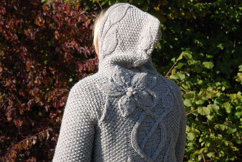 Shoulder and hood of Sylvi