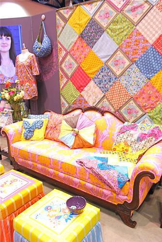 Anna Maria Horner booth Fall 2009