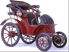 Lohner-Porsche from the year 1900