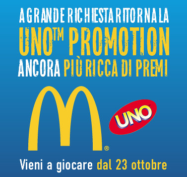 McDonald's Uno™ Promotion