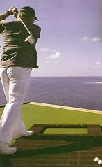 golf cubierta crucero