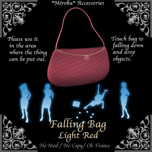 Faling Bag Light Red
