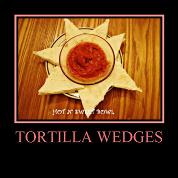 Tortilla Wedges