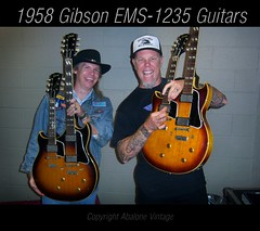 Gibson double neck guitars. 1959 EMS1235 Eric Ernest James Hetfield Metallica guitar collection Death Magnetic tour Guitar Hero (eric_ernest) Tags: original musician music celebrity classic beautiful vintage u2 photo dvd google promo cool tour photos guitar oneofakind deluxe band guitars mandolin double collection prototype american metallica 1958 burst mojo standard instruments sales guitarhero bassguitar rare thinlizzy guitarist recording 59 americanidol 1959 guitarplayer broker facebook 1960 buyer vibe 58 iphone acousticguitar humbucker guitarcollection jimmypage gibsonguitar guitarcenter monstersofrock doubleneck jonasbrothers electricguitars acousticguitars billygibbons vintageguitar twitter vintageguitars sarahpalin guitarcollections rareguitar guitarphotos vintagemusicalinstruments guitarsinstruments deathmagnetic ems1235 rareguitars ericernest pafpickups