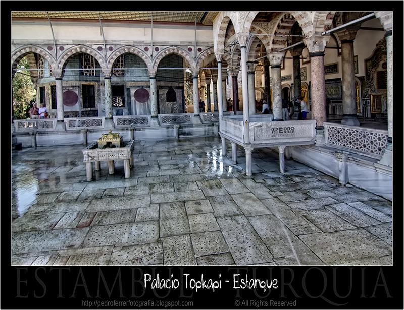 Palacio Topkapi - Estanque