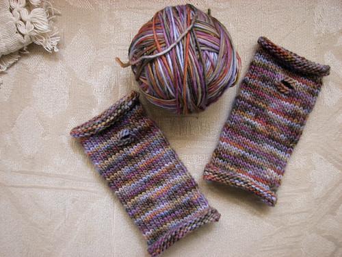 Fingerless Gloves for the little one