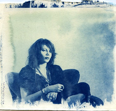 my first cyanotype;) (Eni Turkeshi Imagery) Tags: portrait people film girl face eyes friend atmosphere expressionist analogue cinematic cyanotype altprocess marielito fotografkiraathanesi fotografeshqiptare independentphotos fotografca fomafilm