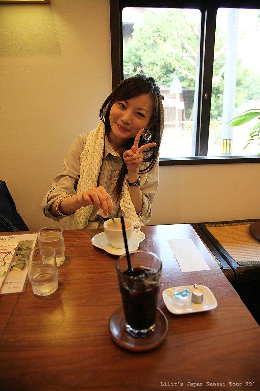 前田咖啡廳休息中