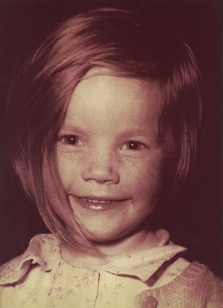 Fiona Forsyth's 4th birthday, 1956