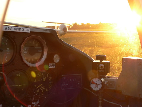 Sun is up...scramble the aircraft!