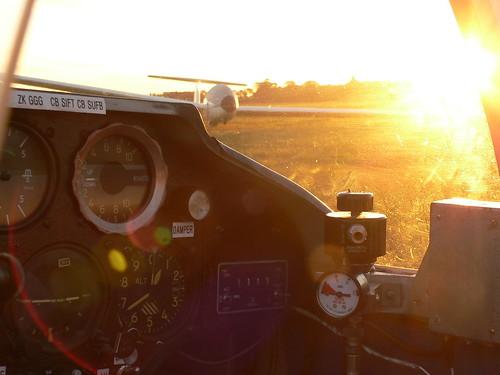 Sun is up...scramble the aircraft!