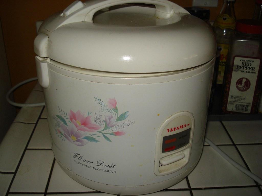 Tayama rice cooker, $20.00