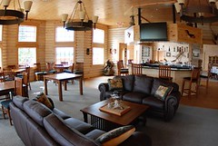 North Haven Resort bar area (North Star and North Haven Resorts) Tags: canada haven plane lunch corporate star fly fishing cabin five north lodge resort manitoba gourmet shore pike float northern spa luxury walleye sauna outpost
