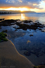 Haleiwa Sunset - Hawaii (Richard E. Ducker) Tags: sunset hawaii oahu north shore haleiwa