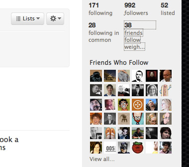 Twitter Statpack screenshot #2