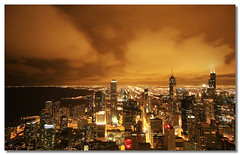 Chicago Nightscape (from John Hancock Center) (` TheDreamSky) Tags: chicago nightscape johnhancockcenter chicagodowntown willistower