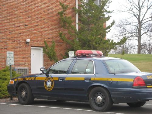 new york state police cars. New York State Police Car