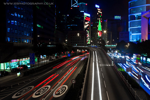 Wanchai Bridge Night