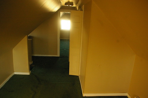 Langston Hughes house - attic (rear room)
