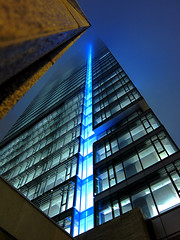 RBC building (foodpr0n.com) Tags: blue toronto building night lights bank dexia rbc