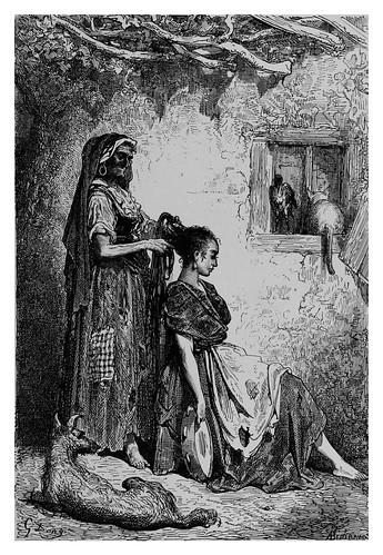 054-Toilet gitana en Diezma-Granada-Spain (1881)- Doré Gustave