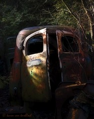 Hidden Beauty (KvonK) Tags: old abandoned car rust ortons mcleans