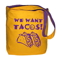 we want tacos gold front (PurplenGoldLA) Tags: lakers staplescenter losangeleslakers ilovela ilovelosangeles lakergame bostonsucks celticssuck wewanttacos lakershirt lakershirts lakertotebags lakergear lakerpics llalakers lakersimages lakerpictures youcantbeatus youcantbeatthelakers