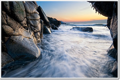 Feet Wet (moe chen) Tags: ocean pool sunrise dawn rocks surf maine sigma moe 1020mm chen biddeford moe76