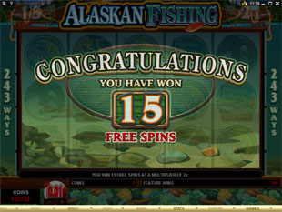 free Alaskan Fishing free spins