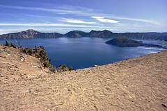 IMG_7255.jpg (matthewkaz) Tags: lake water oregon dirt crater craterlake 2009 whataplace