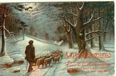 """A Merry Christmas"" (reinap) Tags: illustration merrychristmas christmaspostcard"