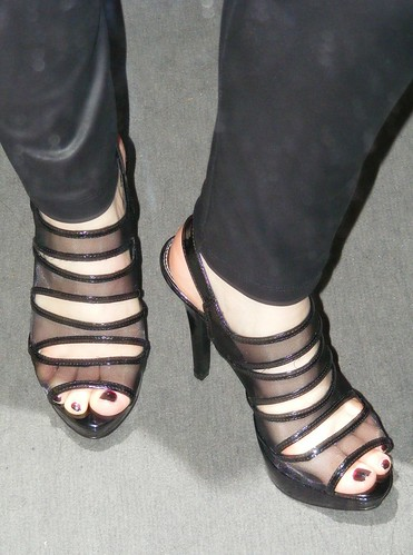 New killer black heels