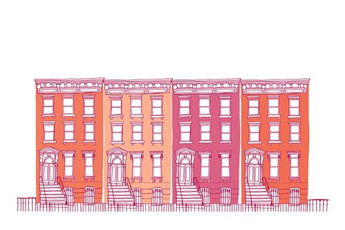 row 12x18 pink