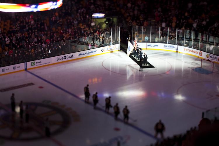 Bruins v. Flyers - National Anthem