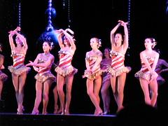 the rockettes ( kimberlyann207 ) Tags: santa new york city nyc costumes music brown radio spectacular reindeer hall dance dancers dancing jazz center antlers precision tap kickline rockefeller rockettes