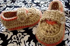 Baby Booties (stitchesandpurls) Tags: handmade crochet babybooties