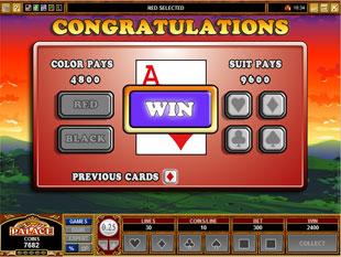 free Stunt Pilot gamble bonus game