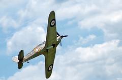 Cosford2009 405 (neil.28860) Tags: d50 geotagged nikon fighter shropshire photos hurricane eurofighter spitfire vulcan dc3 redarrows raf avro airdisplay cosford xh558 mk2c cosfordairshowfan