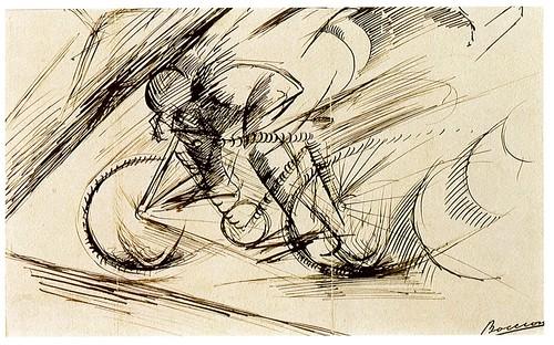 02 Boccioni Dynamism of a Cyclist