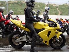 (gurke2010) Tags: sexy girl leather bike women racing motorbike motorcycle sportbike rider gp racer bikergirl