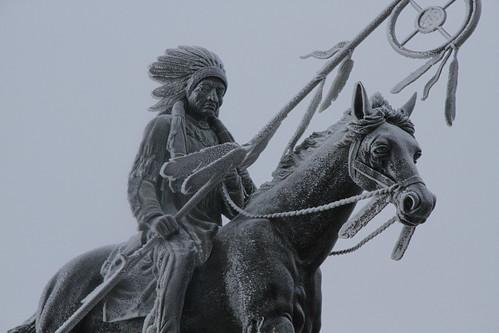 Sitting Bull Statue - UND
