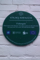 Photo of Fishergate green plaque