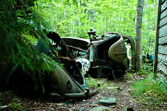 old history cars abandoned car vw rural bug volkswagen 1... (Photo: Peter Bromley on Flickr)