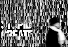 stupid creates (gpaolini50) Tags: street colore arte milano ombre biancoenero figura