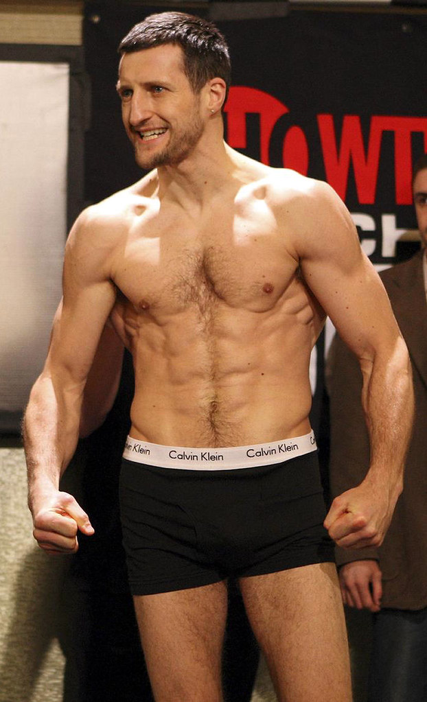 Carl Froch shirtless